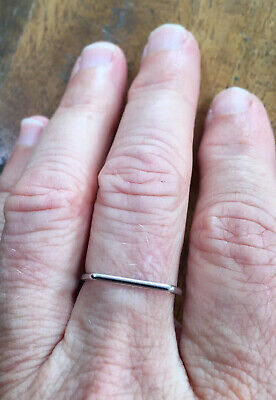 AU12.50 • Buy Unusual Solid Gold Ring Band. Mint. (unwanted Xmas Gift)