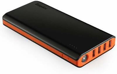View Details EasyAcc 26000mAh Power Bank 4 Ports External Battery Charger Portable Charger  • 35.99£