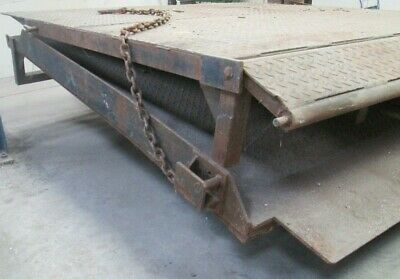 Dock Levellers Steel Ramps Forklift Truck Load Unloading Containers 228 X 207 Cm • 2,399.99£