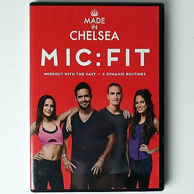 Made In Chelsea MIC:FIT (Fitness DVD, 2014 Universal E4) • 0.99£