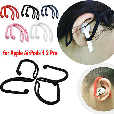 $ CDN3.79 • Buy Silicone Ear Hook Anti-Lost Clips For Apple AirPods 1 2 Pro Bluetooth Earphone