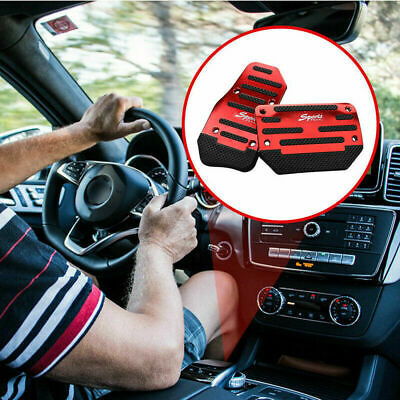 $13.26 • Buy Universal Red Car Interior Foot Rest Pedals Pad Cover Car Accessories Durable