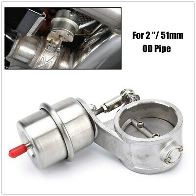 $ CDN57.98 • Buy 2  51mm Car Boost Activated Exhaust Cutout Exhaust Control Valve Boost Vacuum