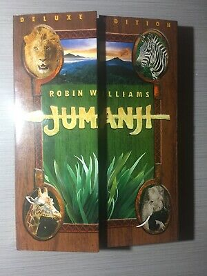 AU11 • Buy Jumanji - Deluxe Edition - Robin Williams - Like New R4 DVD