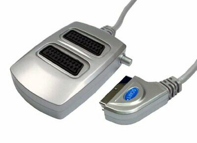 World Of Data 2 Way Scart Splitter Switched - 21-pin Fully Wired - Audio   • 9.51£