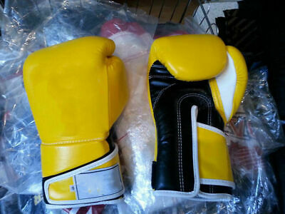 $69.99 • Buy Custom Made Hook And Loop Boxing Gloves Any Logo Or Name, Inspired By Fairtex