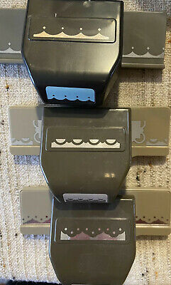 $6 • Buy Stampin Up! Lot Of 2 Border Punches And 1 EK Border Punch