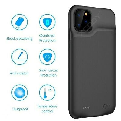 £18.95 • Buy External 6000mAh Battery Charger Case For IPhone 11 Pro Max Charging Power Cover