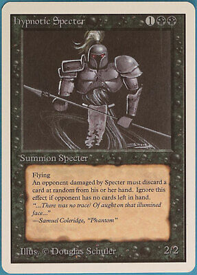 $15.74 • Buy Hypnotic Specter Unlimited MINT Black Uncommon MAGIC CARD (ID# 100826) ABUGames