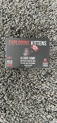 AU10.50 • Buy AU Exploding Kittens Card Game NSFW New And Sealed