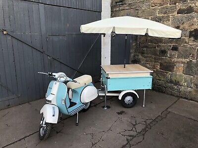 Vespa Ape Trailer Unit - Pizza,coffee,ice Cream,advertise,prosecco,shop Display • 3,750£