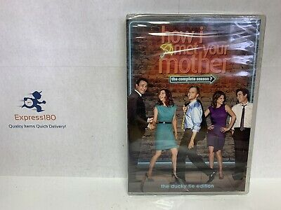 $8.50 • Buy (LL) How I Met Your Mother: Season 7 7th Seven (DVD, 2012, 3-Disc Set) Brand New