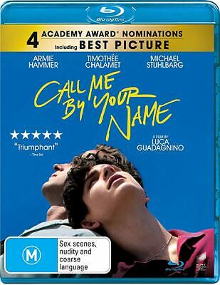 AU26.70 • Buy Call Me By Your Name Blu-ray