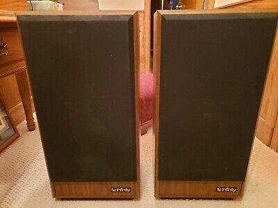 $375 • Buy INFINITY SM 100 Speakers PAIR OF 2. Excellent Condition Classic!