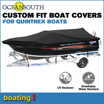 AU457.09 • Buy Oceansouth Custom Fit Boat Cover For Quintrex 610 Freedom Cruiser Bowrider Boat