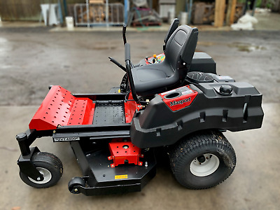 AU2550 • Buy NEW Ex Disp Masport Zero Turn Ride On Mower, Fabricated 48 Inch Deck, RRP $8450!