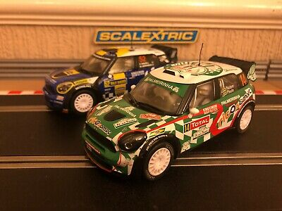 Scalextric Mini Countryman WRC No14 & No52 C3523 & C3401 Brand New Both Unboxed • 85£