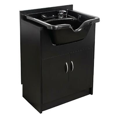 $395 • Buy Professional Shampoo Bowl Sink Station Cabinet Salon Barber Spa Beauty Equipment
