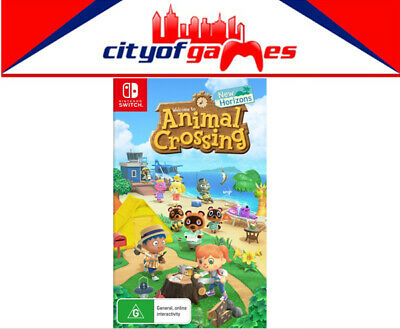 AU74.95 • Buy Animal Crossing New Horizons Nintendo Switch Game Brand New In Stock
