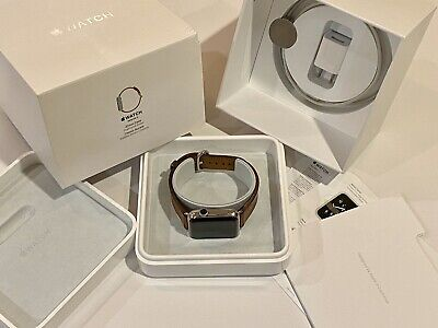 $ CDN262.78 • Buy Apple Watch Series 2 42mm Stainless Steel Classic Buckle Saddle Brown MNPV2LL/A