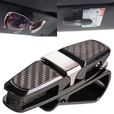 AU4.18 • Buy 1x Auto Car Sun Visor Sunglasses Card Ticket Dual Mount Holder Clip Accessories