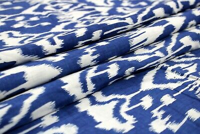 Running Sewing Ikat Fabric For Curtain Drapery 20 Meter Home Furnishing Fabric   • 71.99£