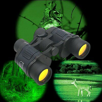 60x60 Day/Night Military Army Zoom Powerful Binoculars Optics Hunting Camping UK • 20.99£