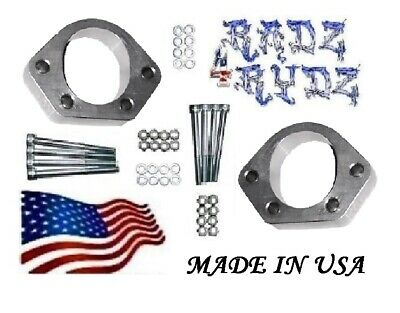 $75.79 • Buy 1988-1998 Chevy GMC C K 2500 3500 HD 8600 GVWR Ball Joint Spacers For Lift Kit