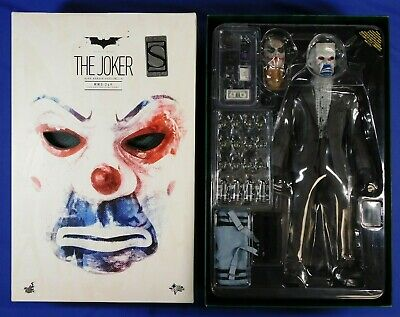 $ CDN530.25 • Buy Batman Dark Knight Hot Toys Joker 1/6 Scale Mms 249 Bank Robber 2.0 Sideshow Exc