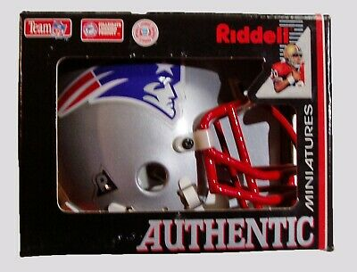 $29.99 • Buy New England Patriots Riddell Authentic Mini Football Helmet
