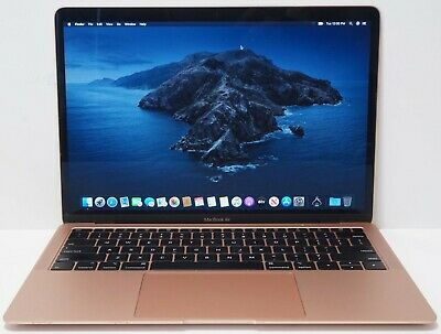 $899.99 • Buy Apple MacBook Air 2018 Core I5 1.6GHz 16GB RAM 256GB SSD Gold