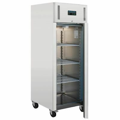 View Details Polar Single Door Fridge In Grey - 650L Heavy Duty Commercial Refrigerator • 628.48£