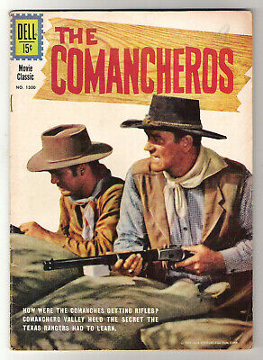 $4.99 • Buy Dell Comic 1300 John Wayne Movie The Comancheros Ca 1961 Whitman Lee Marvin