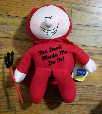 £29.01 • Buy 1984 Dakin 9  The Devil Made Me Do It Vintage Stuffed Costume With Tags EUC