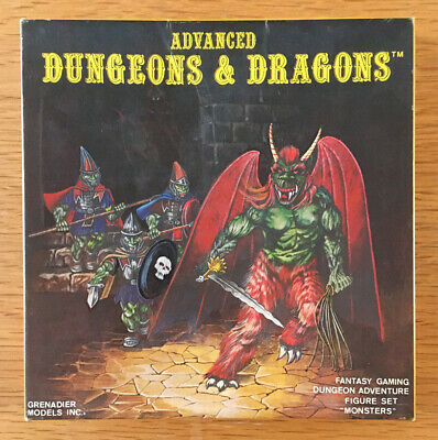 Grenadier Models AD&D 5002 Monsters Metal Miniatures Box Set Complete RARE • 79.99£