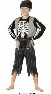 Childrens Deluxe Pirate Boy Fancy Dress Costume Set Halloween Medium • 7.99£