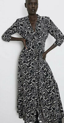 $39.35 • Buy Zara XL 14/16 Ex-Large Long Maxi Shirt Dress Bloggers Fav Sold Out Current NEW
