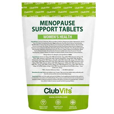 90 Menopause Support With Para Amino Benzoic Acid And Soya Isoflavones ClubVits • 7.99£