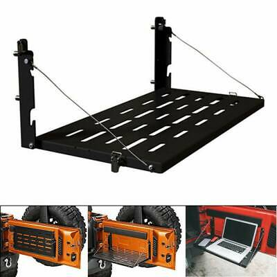 $75.99 • Buy For Jeep Wrangler JK 2007-2017 Foldable Tailgate Table Cargo Shelf Up To 75lb