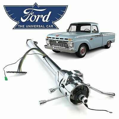 $209 • Buy Ford F100 1961-66 Truck Chrome 33  Steering Column Shift Tilt Short Box F150 352