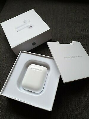 AU120.50 • Buy Apple AirPods 2nd Generation With Wireless Charging Case - White