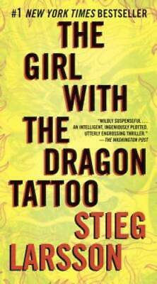 $3.73 • Buy The Girl With The Dragon Tattoo (Millennium Series) By Larsson, Stieg - GOOD