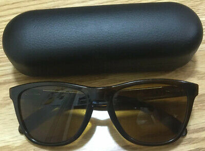 $59.95 • Buy RARE Oakley Frogskins Rootbeer Bronze 03-116 Frame Sunglasses Shades USA + Case!