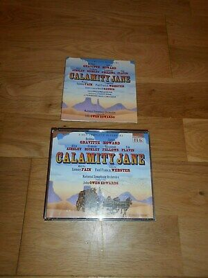 Calamity Jane First Complete Recording Cd X2 Double National Symphony Orchestra • 14.95£