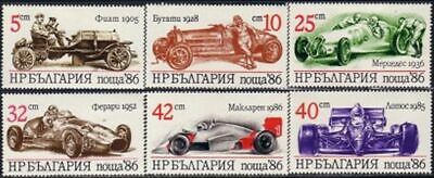 $ CDN1.95 • Buy Bulgaria Sports Cars Fiat Bugatti Ferrari Lotus McLaren Mercedes MNH ** (126)