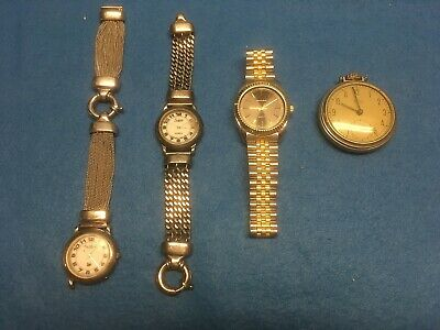 $ CDN19.99 • Buy Vintage Watches And Pocketwatch Lot (4)