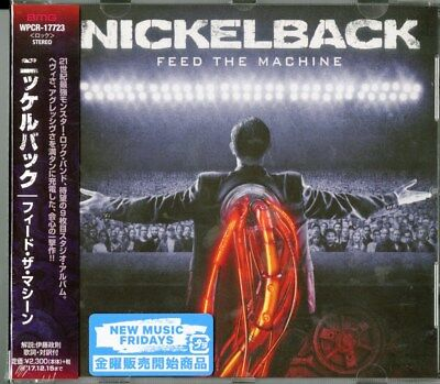 Nickelback-feed The Machine-japan Cd F04 • 21.70£