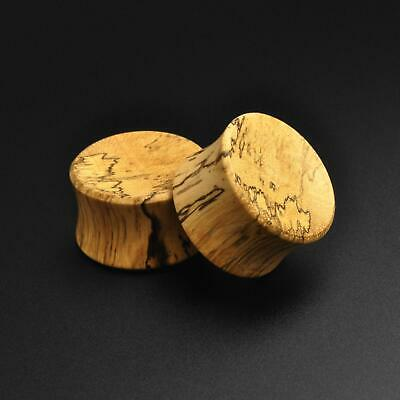 $8.70 • Buy Wooden Ear Gauges Plugs Tamarind Wood Double Flare Concave Plug SIBJ Quality