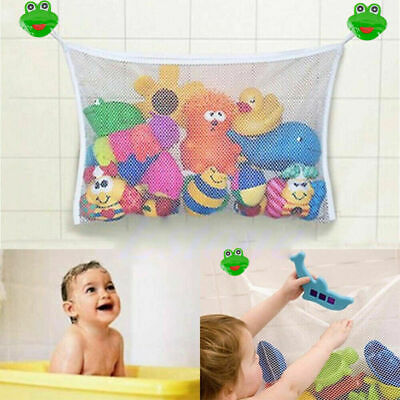 🔥 Large Kids Baby Bath Toy Tidy Organiser Mesh Net Storage Bag Holder Bathroom  • 3.95£