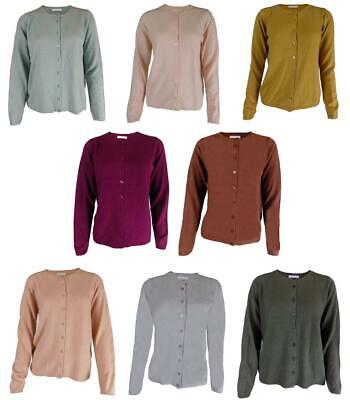 NEUF RRP £ 24.99 Ex Marks and Spencer Ocre Cardigans
